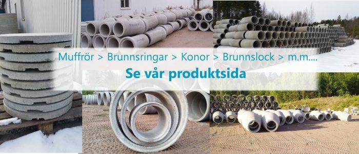 betong och cement produkter